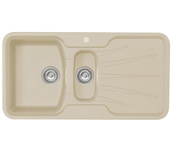 Astracast Korona 1.5 Bowl Composite ROK Granite Inset Sink