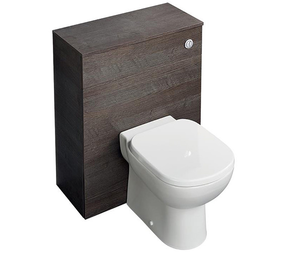 Ideal Standard Tempo 650mm Sandy Grey WC Furniture Unit With Dual Flush Cistern