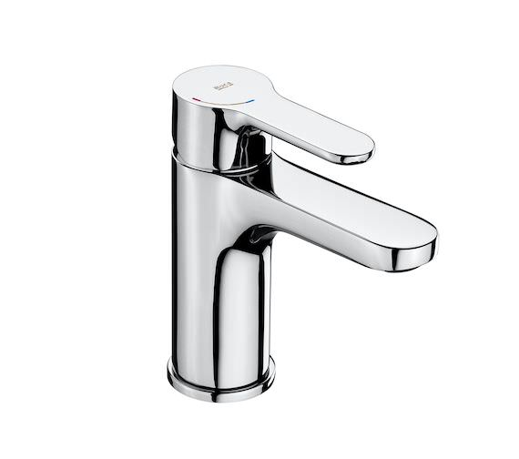 Additional image of Roca L20 Smooth Body Deck Mounted Basin Mixer Tap