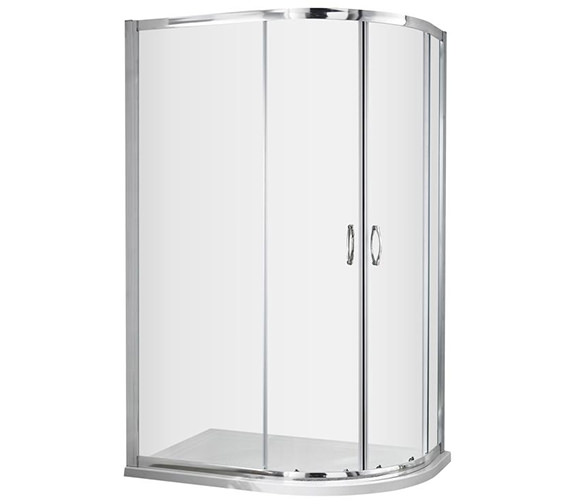 Lauren Ella 1200 x 900mm Offset Quadrant Shower Enclosure