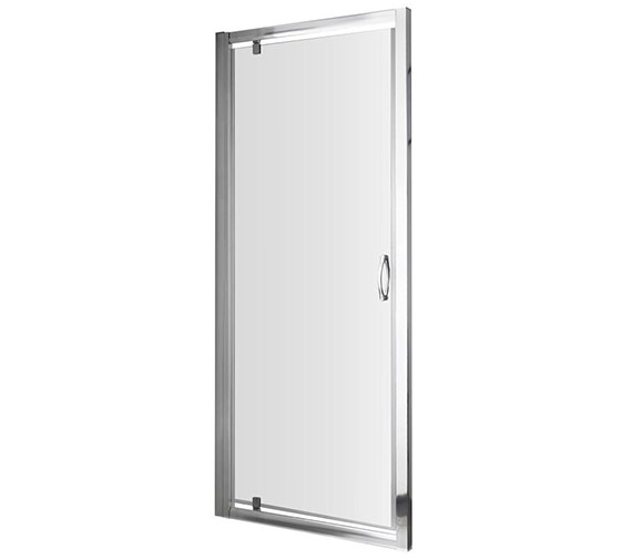 Lauren Ella 800 x 1850mm Pivot Shower Door