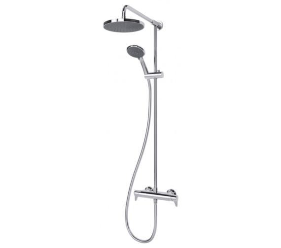 Triton Eden Bar Diverter Mixer Shower And Kit - Thermostatic Temperature Control