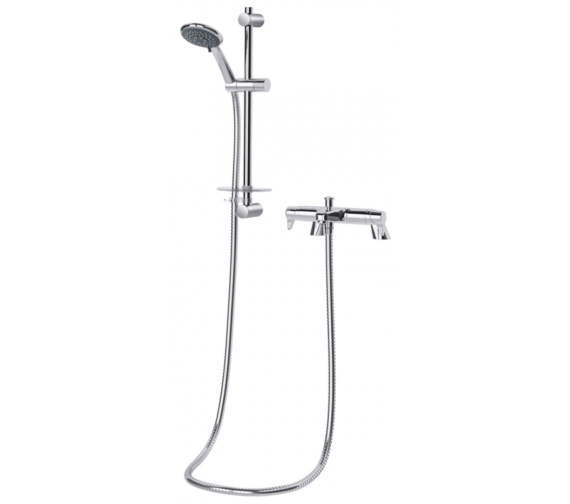 Triton Eden Bath Shower Mixer With Shower Kit - Modern Design