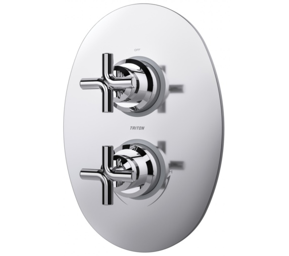 Additional image of Triton Kensey Dual Control Single Outlet Mixer Shower Valve