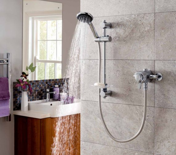 Triton Eden Concentric Mixer Shower Valve With Shower Kit