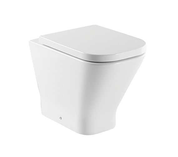 Roca The Gap Comfort Height Back-To-Wall WC Pan