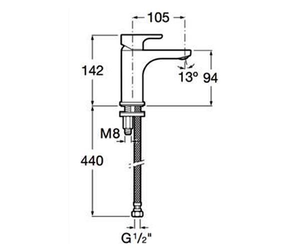 Technical drawing QS-V86272 / 5A3209C0R