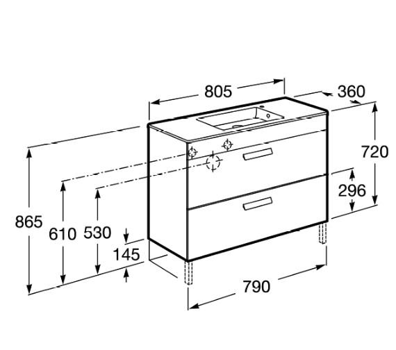 Technical drawing QS-V83993 / 855904155