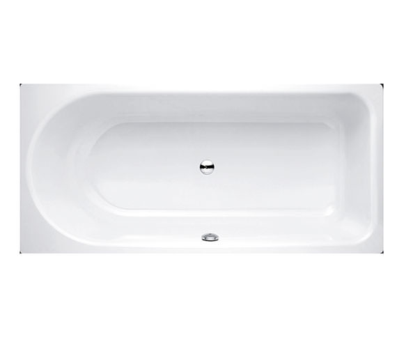 Bette Ocean 1600 x 700 Rectangular Super Steel Bath With Front Overflow