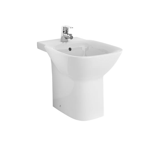 Roca Debba 355 x 400mm Vitreous China Floor Standing Bidet
