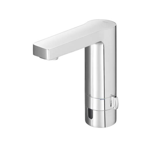 Roca L90 Electronic Basin Mixer Tap - Mains Operated