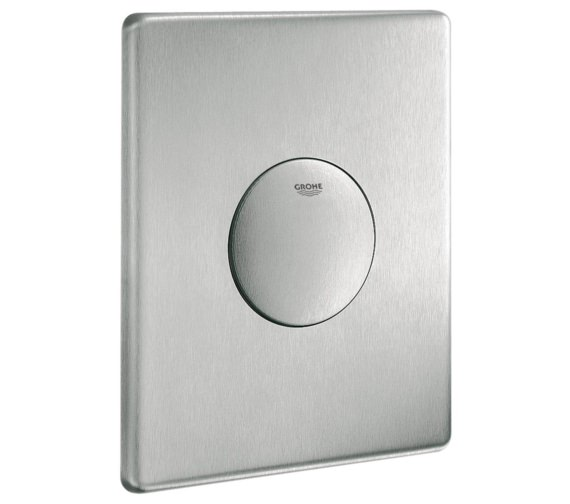 Grohe Tectron Skate Wall Mounted Flush Plate Stainless Steel