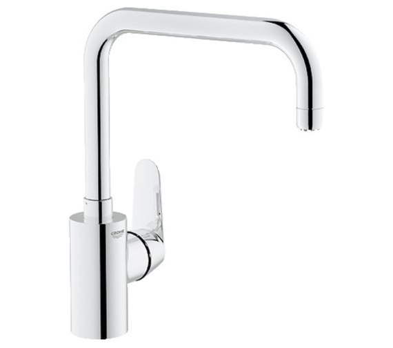 Grohe Eurodisc Cosmopolitan Chrome Kitchen Sink Mixer Tap