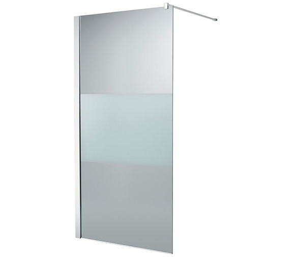 Ideal Standard Synergy 900 x 2000mm Modesty Wetroom Shower Panel