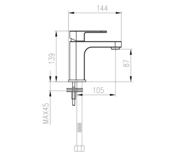 Technical drawing QS-V33015 / JI004