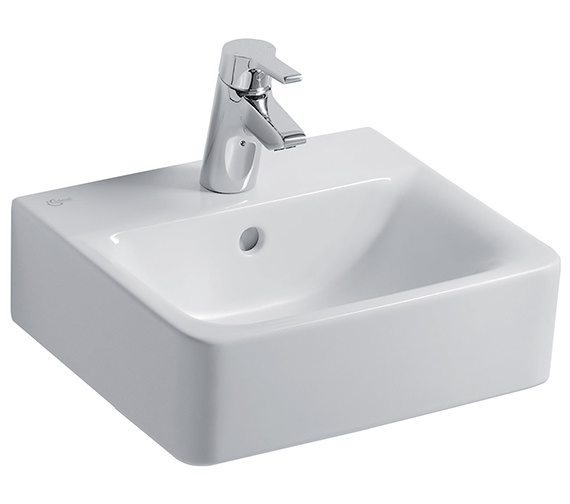 Ideal Standard Concept Cube 400mm 1 Taphole Handrinse Basin