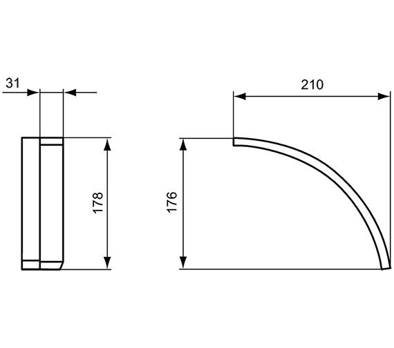 Technical drawing QS-V24131 / T782967