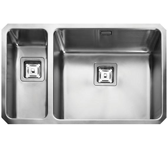 Rangemaster Atlantic Quad 740 x 450mm Stainless Steel 1.5B Undermount Sink