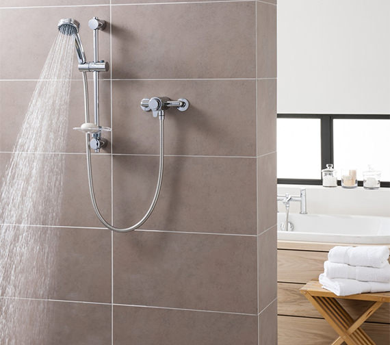 Triton Dene Concentric Mixer Shower Set With Thermostatic Control