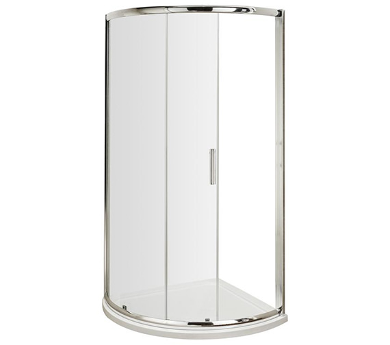 Lauren Pacific Single Entry 860 x 860mm Quadrant Shower Enclosure