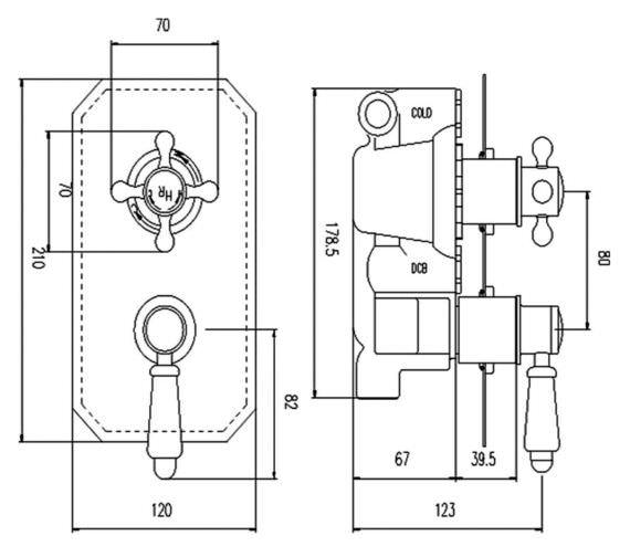 Technical drawing QS-V90381 / TSVT004