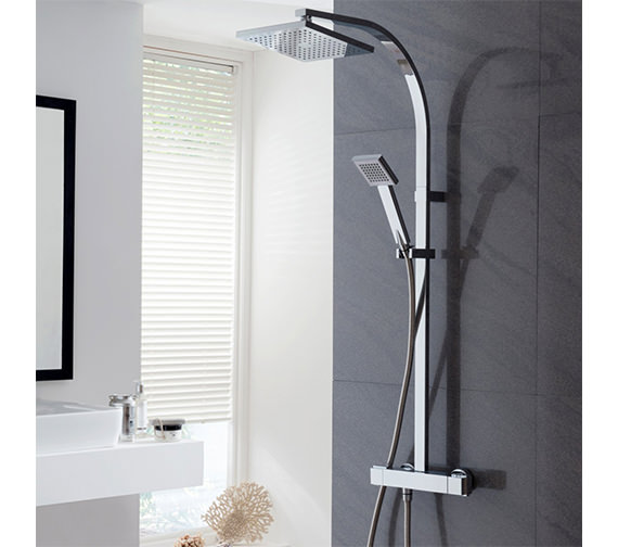Triton Tees Bar Mixer Shower With Diverter