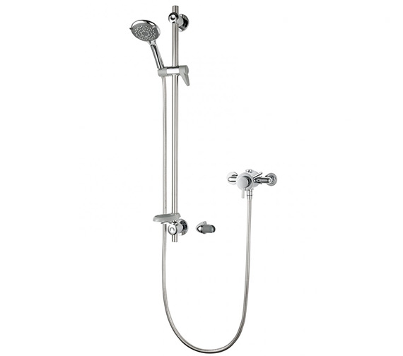 Triton Elina Exposed Concentric Mixer Shower Valve With Riser Rail