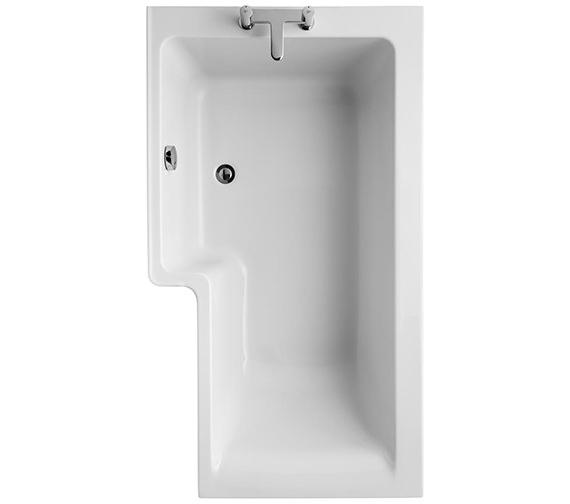 Ideal Standard Concept Idealform 1500 x 850mm Square Left Hand Shower Bath - E049501