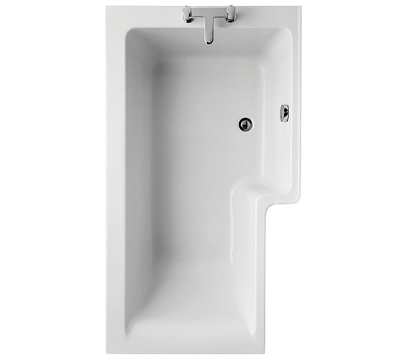 Ideal Standard Concept Idealform Plus 1500 x 850mm Square Right Hand Shower Bath