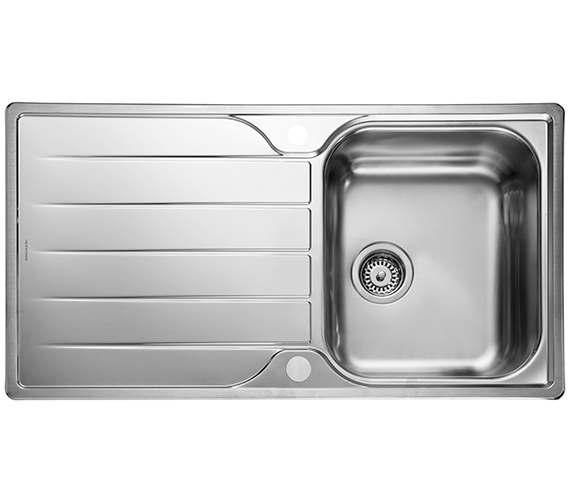 Rangemaster Michigan 950 x 508mm Stainless Steel 1.0B Inset Kitchen Sink