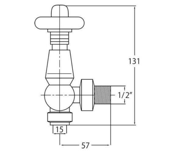 Technical drawing QS-V90425 / RV202