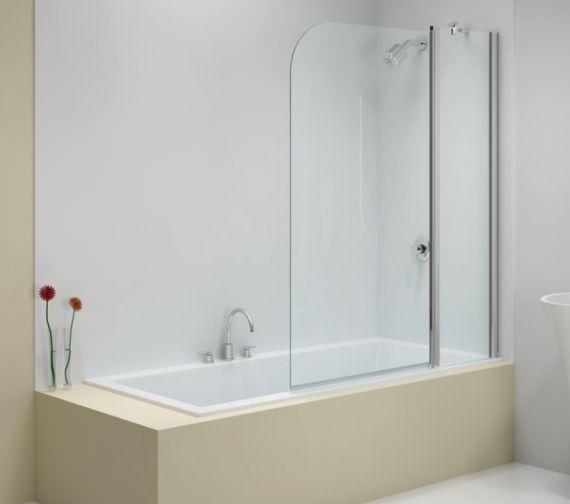Merlyn Ionic 900 X 1500mm Two Panel Folding Curved Bath