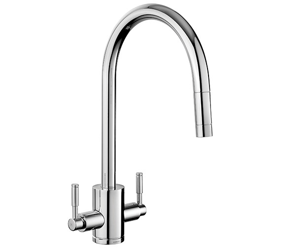 Alternate image of Rangemaster Aquatrend Pull Out Kitchen Sink Mixer Tap Single Lever