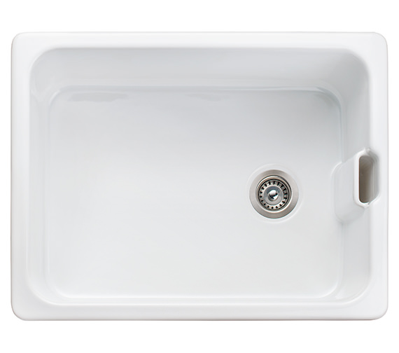 Rangemaster Farmhouse Belfast 595 x 455mm Fire-Clay Ceramic 1.0B Sink
