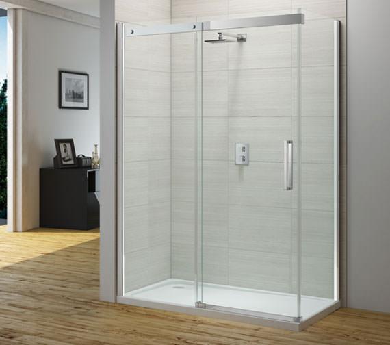 Merlyn Ionic Gravity 1000mm Frameless Sliding Shower Door