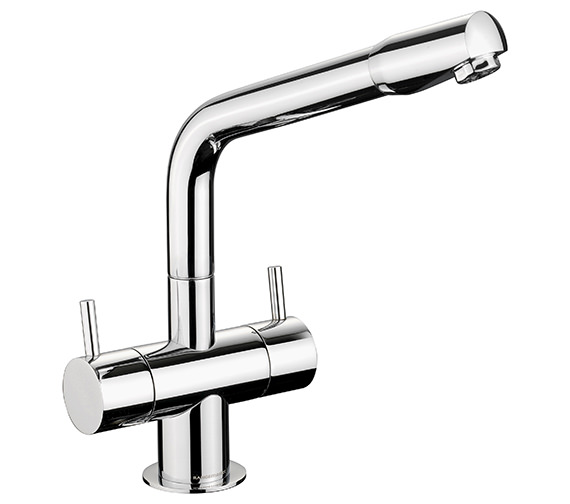 Alternate image of Rangemaster Aquapro Dual Lever Pull Out Kitchen Sink Mixer Tap