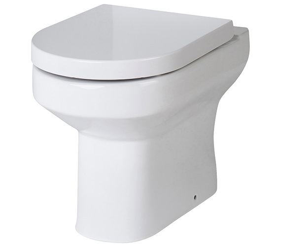 Nuie Harmony Back-To-Wall WC Pan 530mm