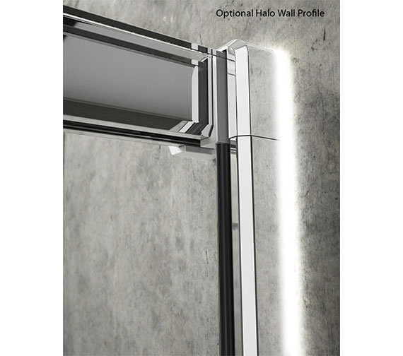 Merlyn arysto 3 panel recess sliding door 1300mm gsr1300hl for 1300 mm sliding shower door