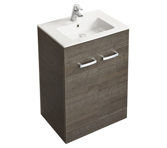 Ideal Standard Tempo Floorstanding 2 Door Vanity Unit 600mm