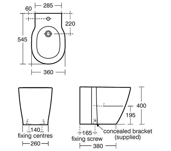 Technical drawing QS-V40373 / E799401