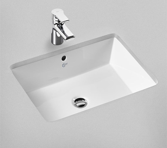 Ideal Standard Strada 600mm Under Countertop Basin No Taphole