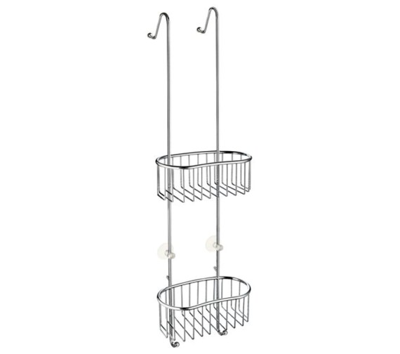 Smedbo Sideline Double Shower Basket