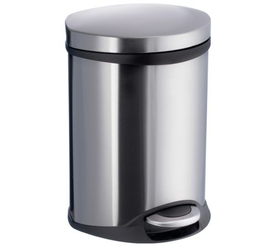 Smedbo Outline Pedal Bin Brushed Stainless Steel