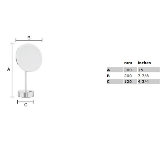Technical drawing QS-V29030 / FK484EP