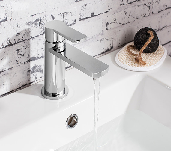Additional image of Crosswater Wisp Monobloc Basin Mixer Tap - WP110DNC