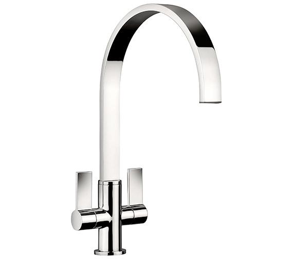 Rangemaster Aspire Monobloc Dual Lever Kitchen Sink Mixer Tap