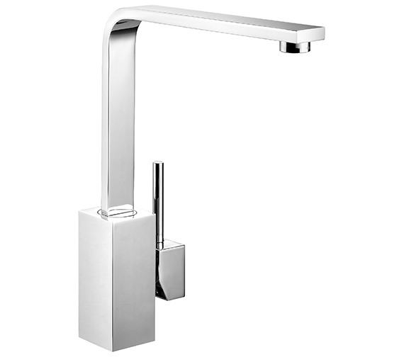 Rangemaster Quadrant Monobloc Single Lever Kitchen Sink Mixer Tap