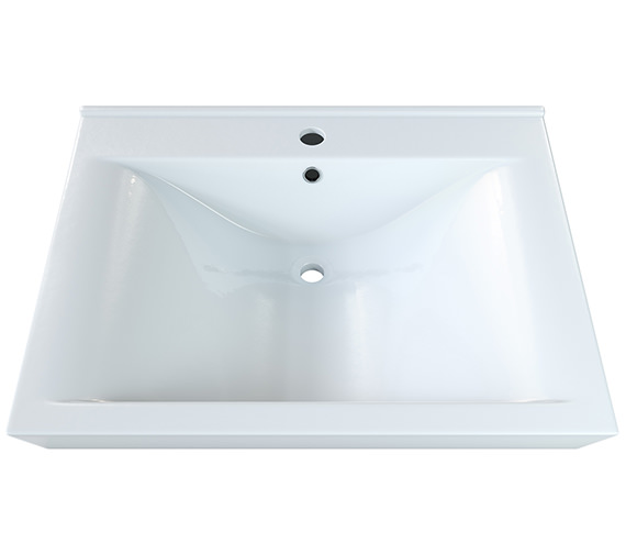 Aqva Lyon Square Countertop Basin 600mm - BBD Lyon 60