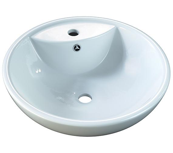 Aqva Nimes Countertop Basin 445mm - BBD Nimes2