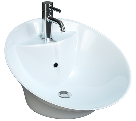 Aqva Anne Counter Top Free Flowing Basin 510mm - BBD Anne